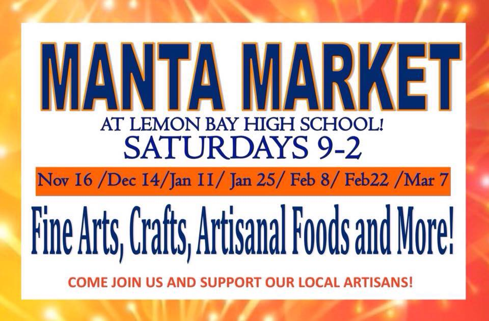 Lemon Bay Manta Market Englewood Florida Weekend Guide