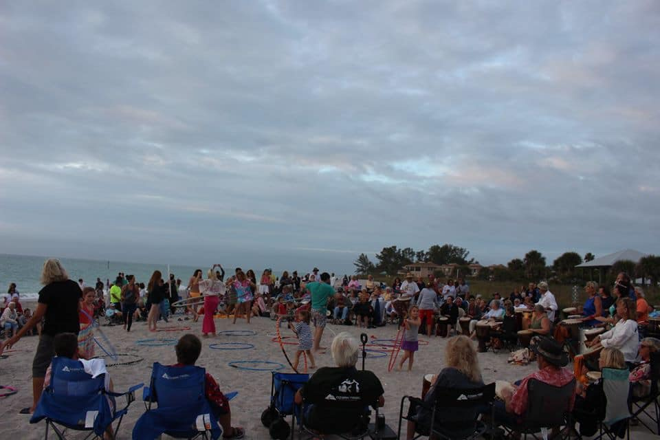 Drum Circle Englewood Florida