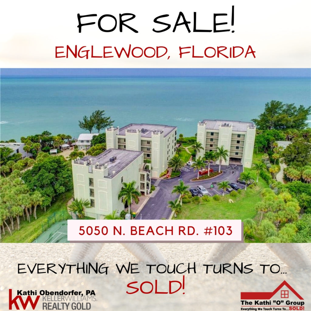 5050 N BEACH ROAD Unit #103, ENGLEWOOD, Florida 34223 Featured Condos With Waterfront Access! - Englewood, FL